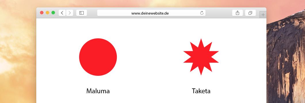 Das Wording deiner Website ist enorm wichtig. Damit wirkst du entweder weich wie eine Maluma oder kantig wie eine Taketa.